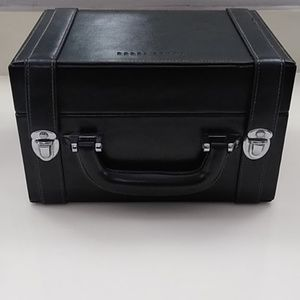Bobbi Brown leather makeup carrying case